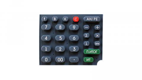 Клавиатура резиновая АВЛГ 575.25.01