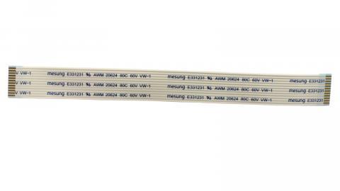 Кабель FFC 130mmx12pxA х1.0х(3/3+6/6) х0,05х0,07