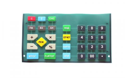 Клавиатура резиновая АВЛГ 417.05.03